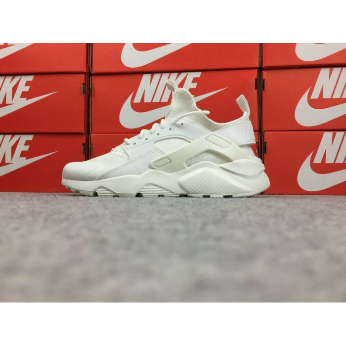 Men's Nike Air Huarache Ultra Run ID 753889-997 White Glow In The Dark