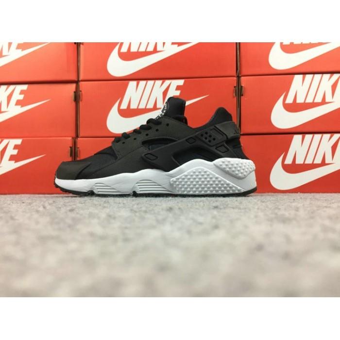 Women's Nike Air Huarache Run 634835-006 OVO Black White