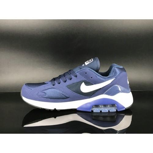 Men's 2018 Nike Air Max 180 Purple White Sale