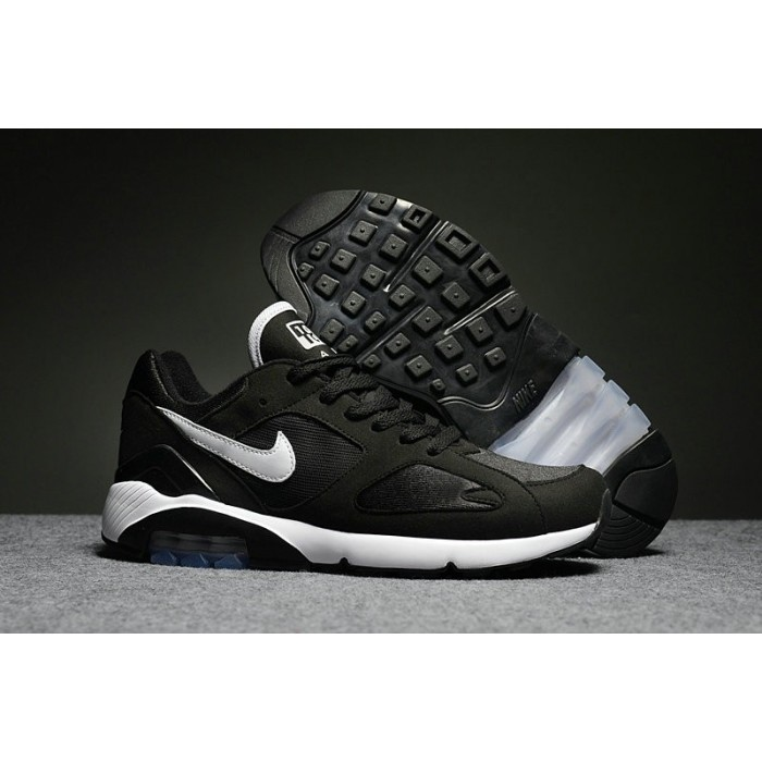 Men's Nike Air Max 180 Black White