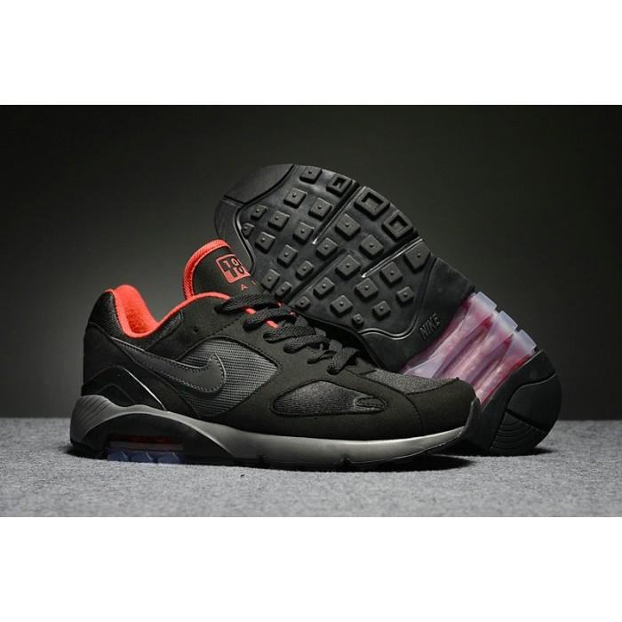 Men's Nike Air Max 180 Red Black