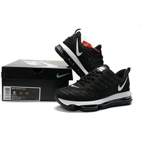 Men's Nike Air Max 2019 Black White
