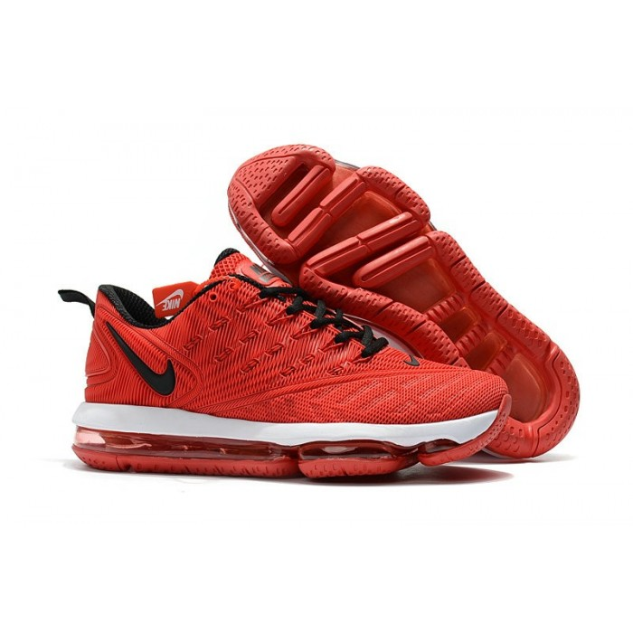 Men's Nike Air Max 2019 Fire Red Black White