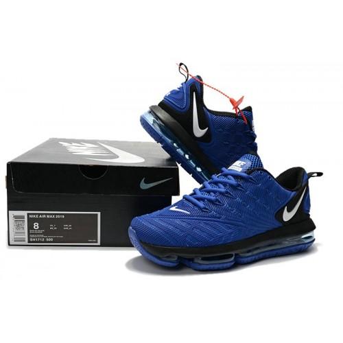 Men's Nike Air Max 2019 Royal Blue White Black