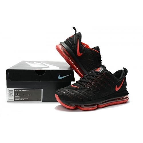Men's Nike Air Max 2019 University Red Black