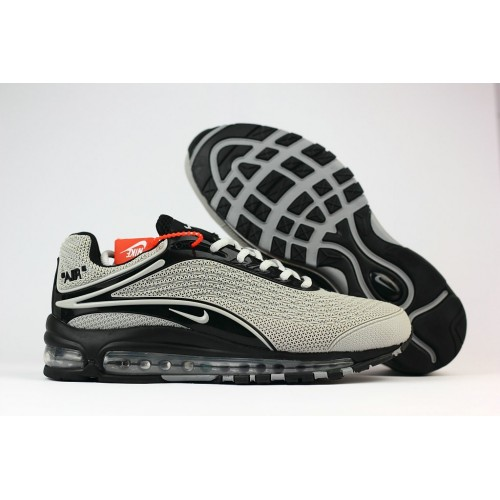 Men's Nike Air Max 2019 Running Shoes Grey Black