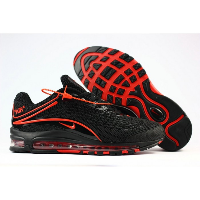 Men's Nike Air Max 2019 Running Shoes University Red Black