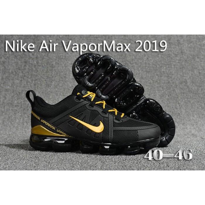 Men's Nike Air Max 2019 x VaporMax Gold Black