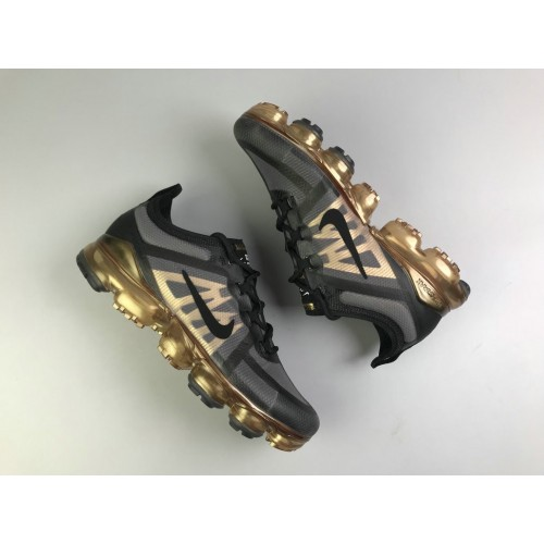 Men's Nike Air Max 2019 x VaporMax Golden Grey Black