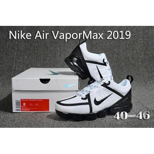 Men's Nike Air Max 2019 x VaporMax White Black