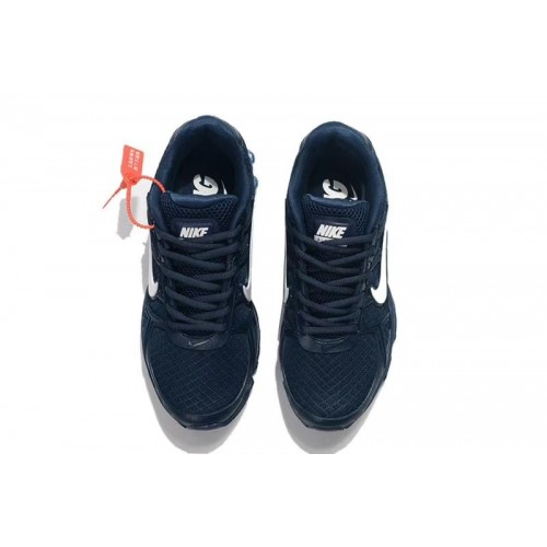 Men's Nike AirMaxs 2019 Navy Blue White