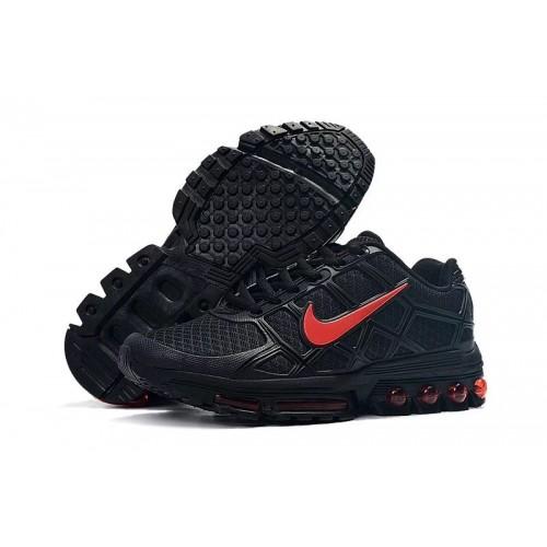 Men's Nike AirMaxs 2019 Red Black