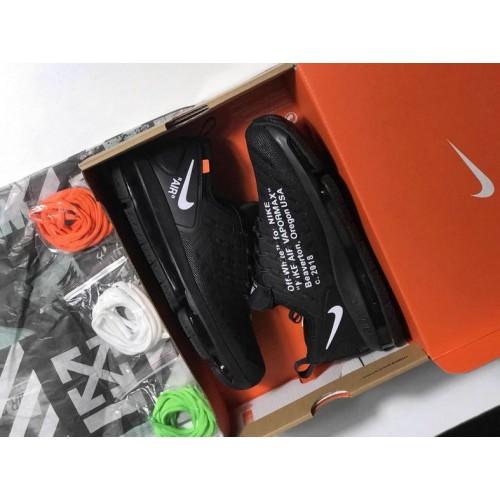 Men's Nike Lab Air Max 2019 Off White Total Black