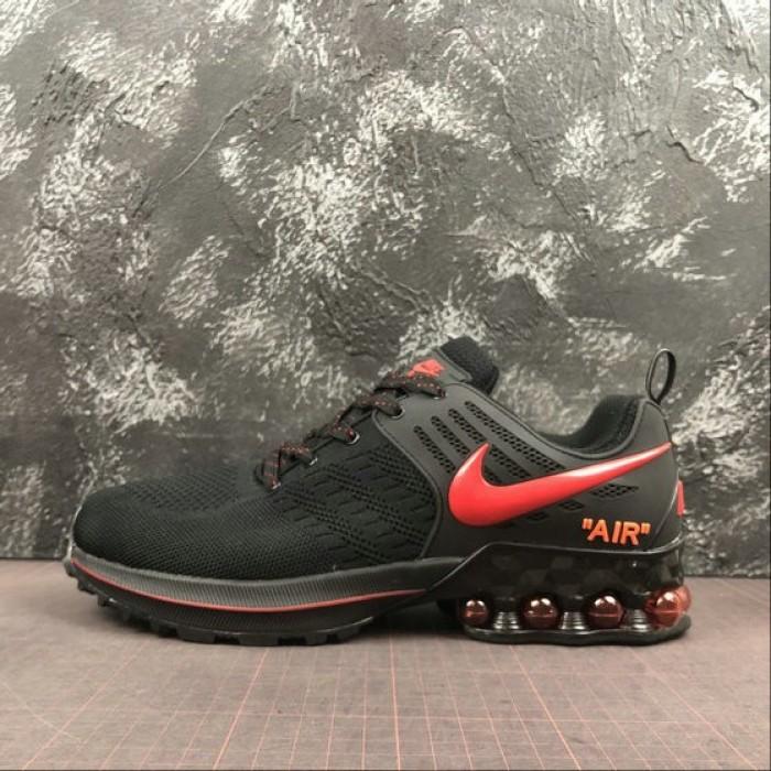 Men's Nike Air Max 2019 Black Red 524977-503