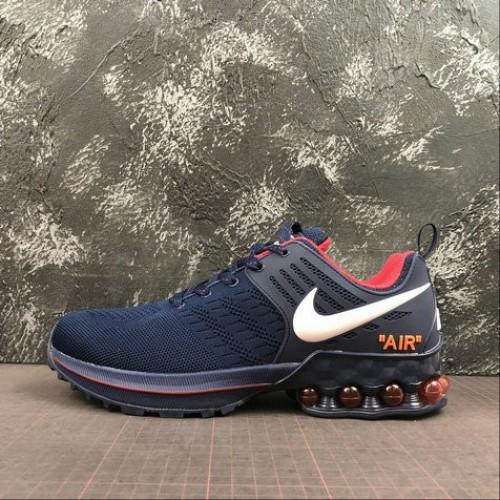Men's Nike Air Max 2019 Deep Blue White Red 524977-509