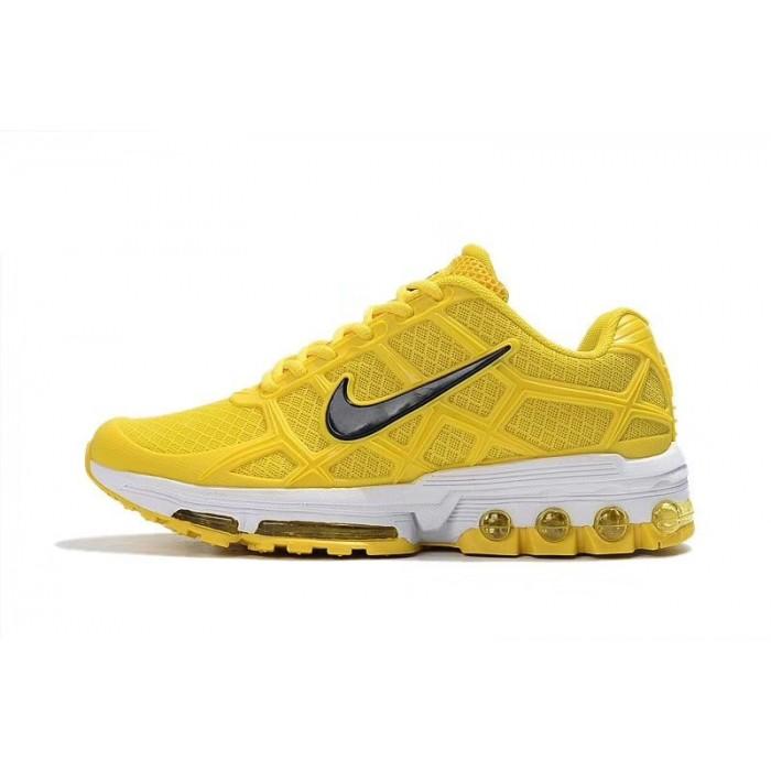 Women's Nike Air Maxs 2019 Shoes In Black Yellow White