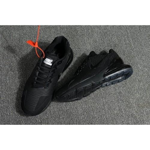 Men's 2018 Nike Air Max 270 All Black Online