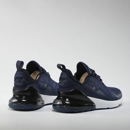 Men's 2018 Nike Air Max 270 Navy Blue Black White Online