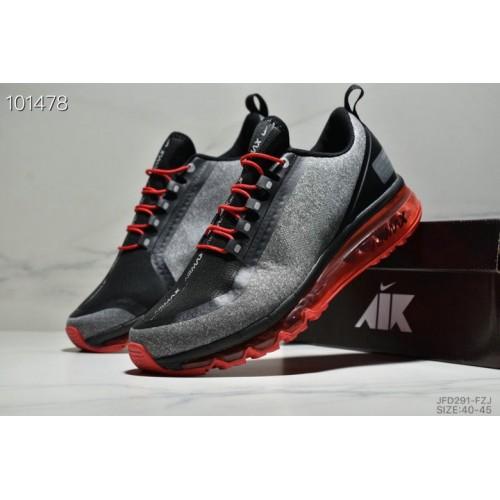 Men's 2019 Nike Air Max 720 2.0 Grey Black Red