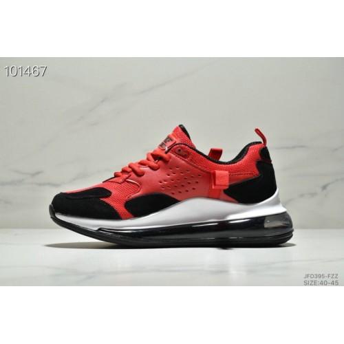 Men's 2019 Nike Air Max 720 3.0 White Red Black
