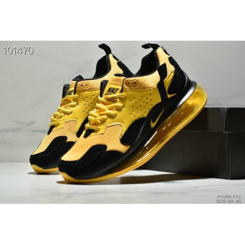 Men's 2019 Nike Air Max 720 3.0 Yellow Black