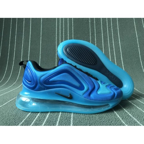 Men's 2019 Nike Air Max 720 Game Blue Black