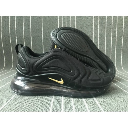 Men's 2019 Nike Air Max 720 Gold Black