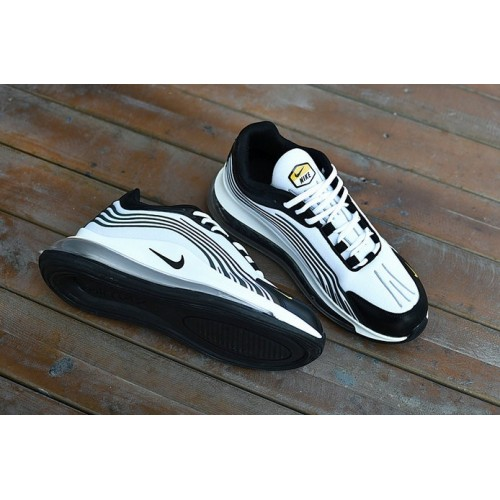 Men's 2019 Nike Air Max 720 Black White