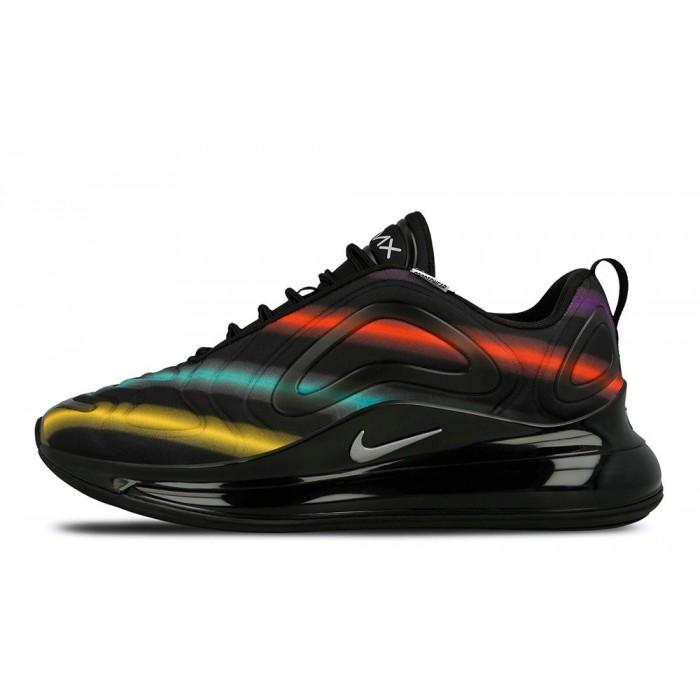 Men's 2019 Nike Air Max 720 Neon Black AO2924-023