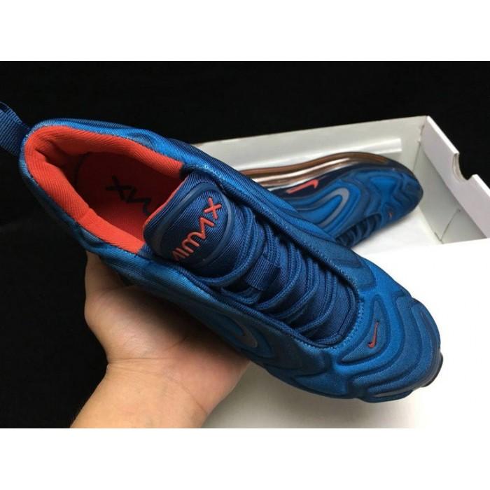 Men's Nike Air Max 720 Sneakers Blue Red