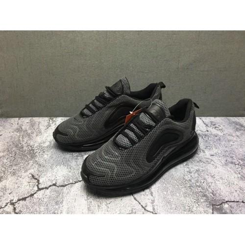 Men's Nike Air Max 720 Sneakers Grey Black