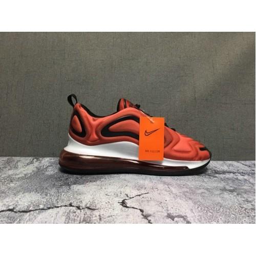 Men's Nike Air Max 720 Sneakers Orange Black White