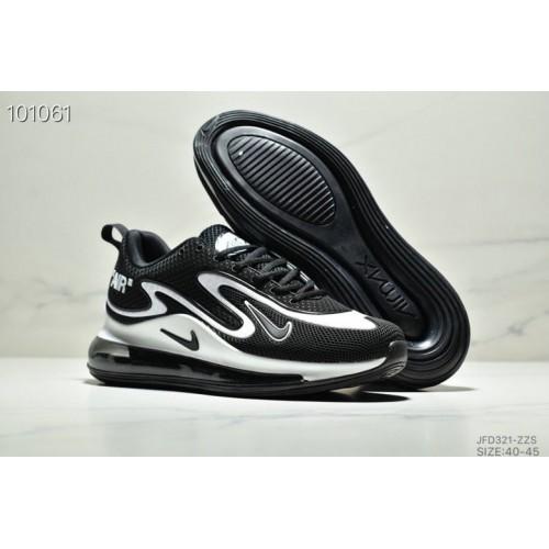 Men's Nike Air Max 720 PRM White Black