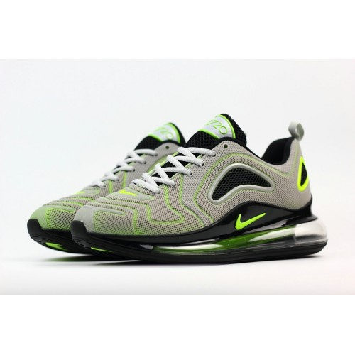 Men's Nike Air Max 720 Rubber Patch Fluorescent Green Grey