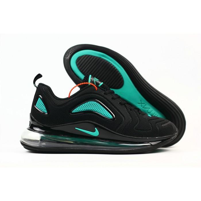 Men's Nike Air Max 720 Rubber Patch Jet Black