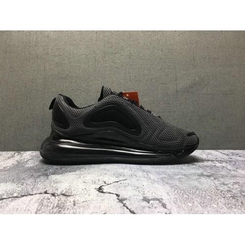 Women's Nike Air Max 720 Grey Black