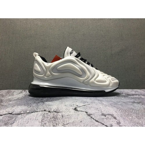 Women's Nike Air Max 720 White Cream Black