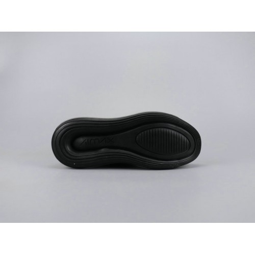 Men's Nike Air Maxs 720 Black White Grey Fire Red