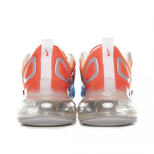 Men's Nike Air Max 720 Sea Forest Orange White Blue AO2924-400