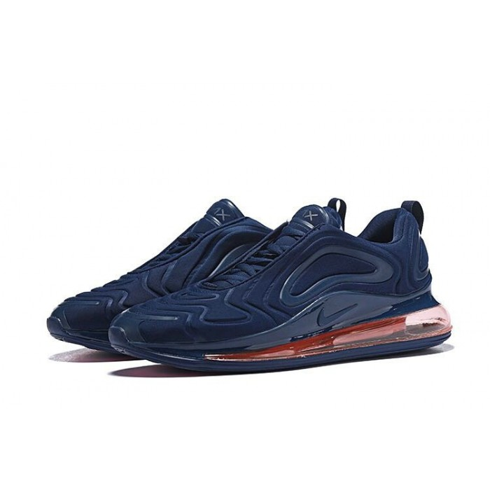 Men's Nike Air Max 720 Sneakers Navy Blue University Red