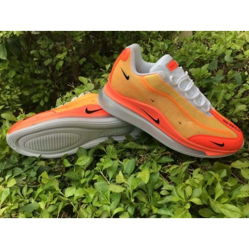 Men's Nike Air Max 720-95 Heron Preston By You Orange Red White Black