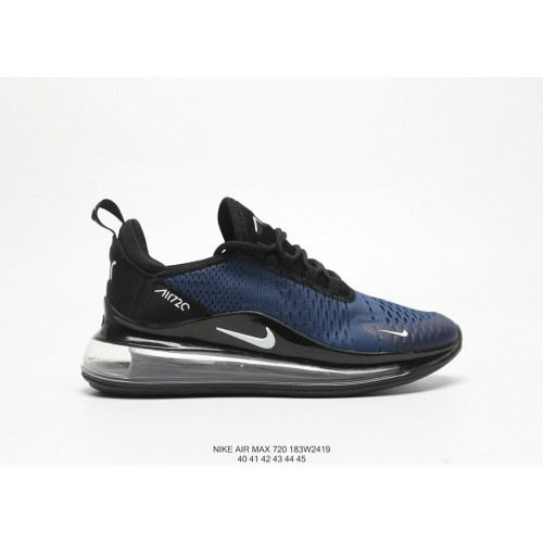 Men's Nike Air Max 720 V2 Navy Blue Black White
