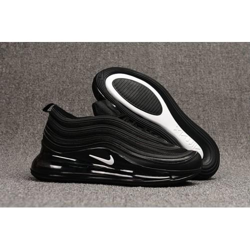 Women's Nike Air Max 720 97 Black White
