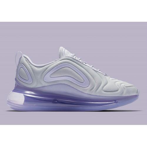 Women's Nike Air Max 720 Pure Platinum Oxygen Purple-Oxygen Purple