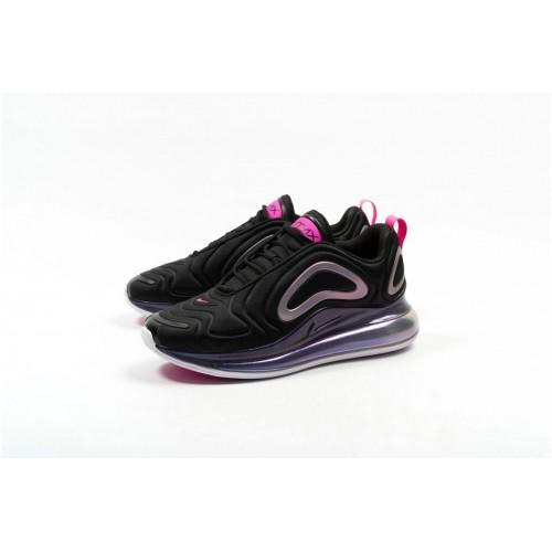 Women's Nike Air Max 720 SE Black Laser Fuchsia-White CD2047-001