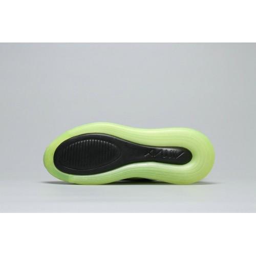 Women's Nike Air Max 720 Black Fluorescent Green