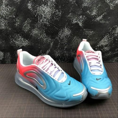 Women's Nike Air Max 720 Lava Glow Black Blue Fury Glow
