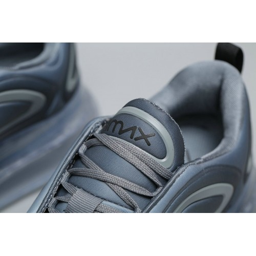 Women's Nike Air Max 720 Light Grey Gradual Change Grain