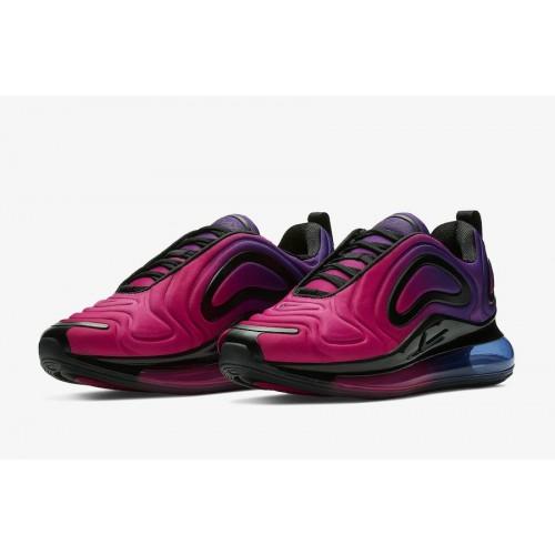 Women's Nike Air Max 720 Sunset Hyper Grape Black-Hyper Pink