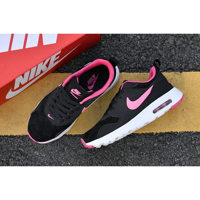 Women's Nike Air Max 87 Pink Black White 2018 New Arrival